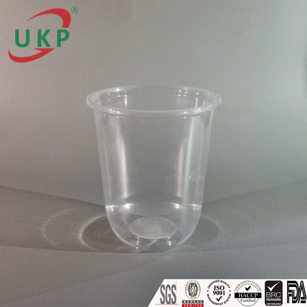 ukp cups, PP plastic products, high quality plastic cups, uy kiet cups, dome lids, Round Bottom cup 500ml, công ty sản xuất ly nhựa Uy Kiệt, plastic cup