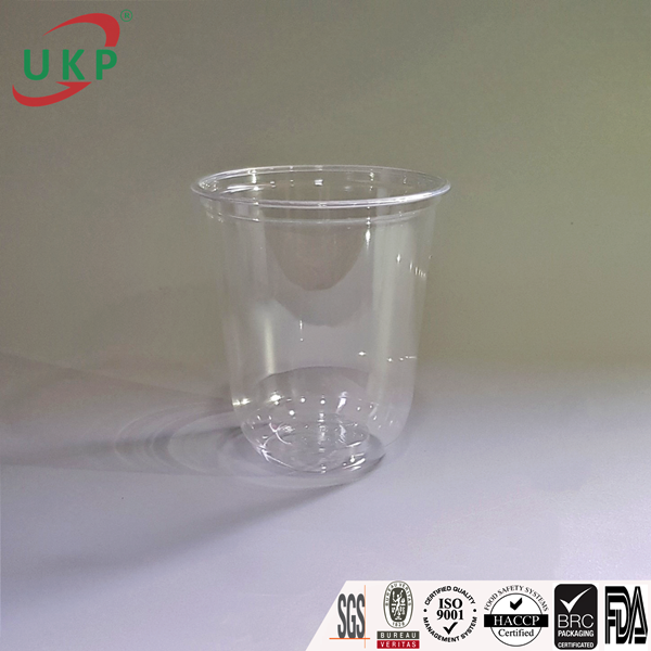 ukp, ukp cups, plastic cup, pet cups, platsic cups with dome lid, plastic cup made from vietnam, round bottom plastic cup